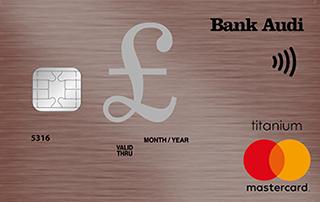 MasterCard Titanium GBP
