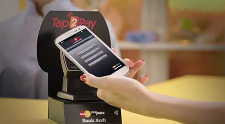 Tap2Pay NFC Mobile Payment by Bank Audi – Nail Spa