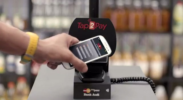 Tap2Pay NFC Mobile Payment by Bank Audi – Minimarket